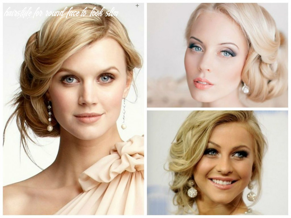Pin on wedding hairstyle hairstyle for round face to look slim