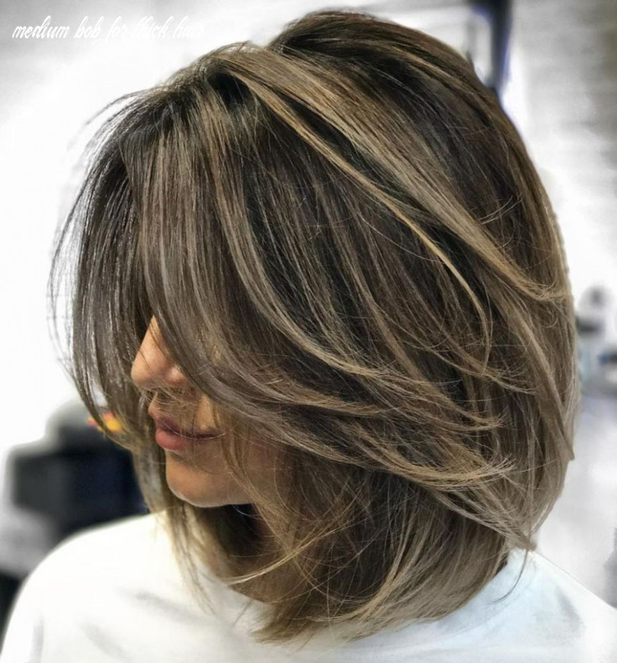 Pin on what to do with my hair medium bob for thick hair