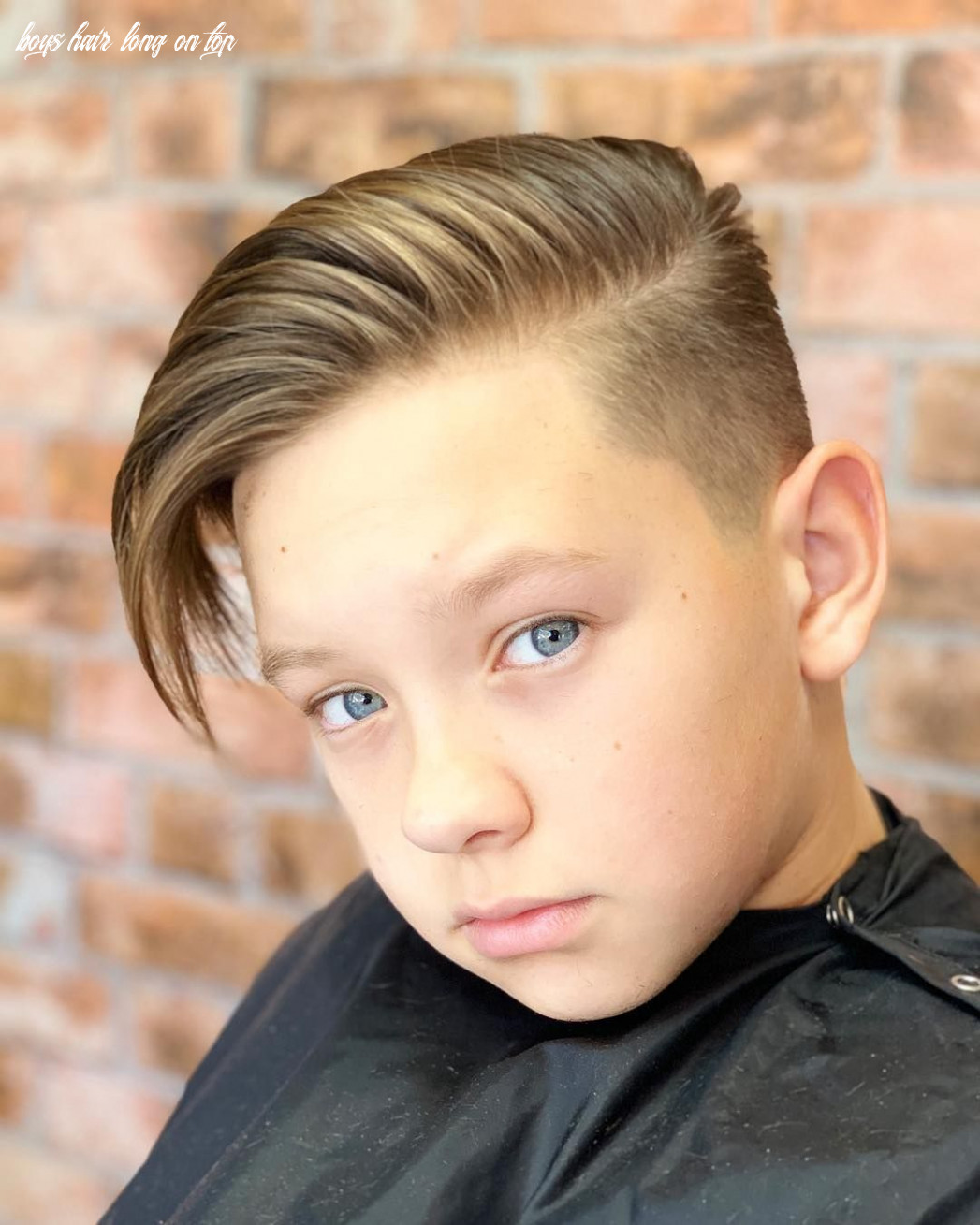 Pin on young person hairstyle boys hair long on top