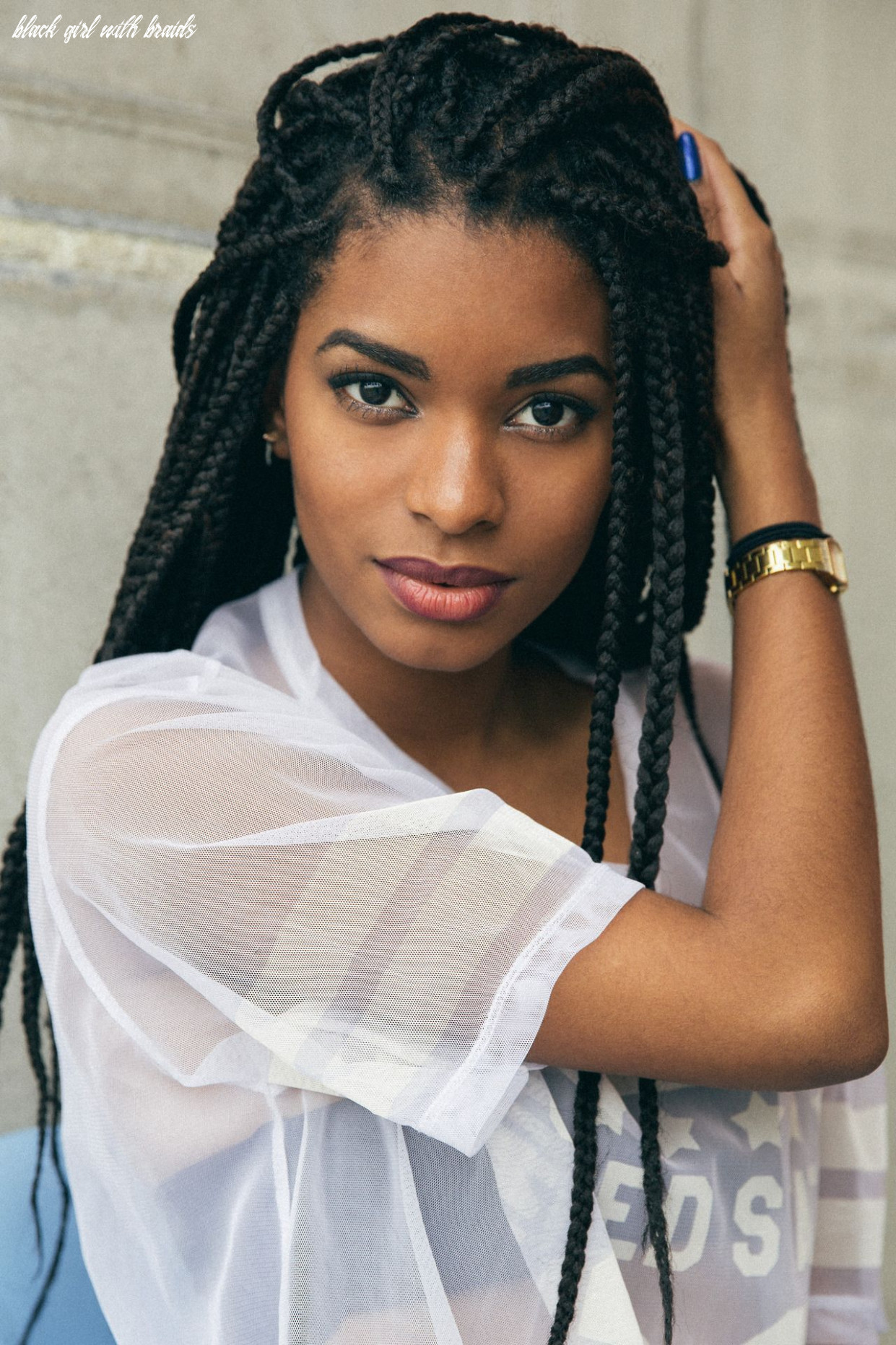 Pin su african hairstyles black girl with braids