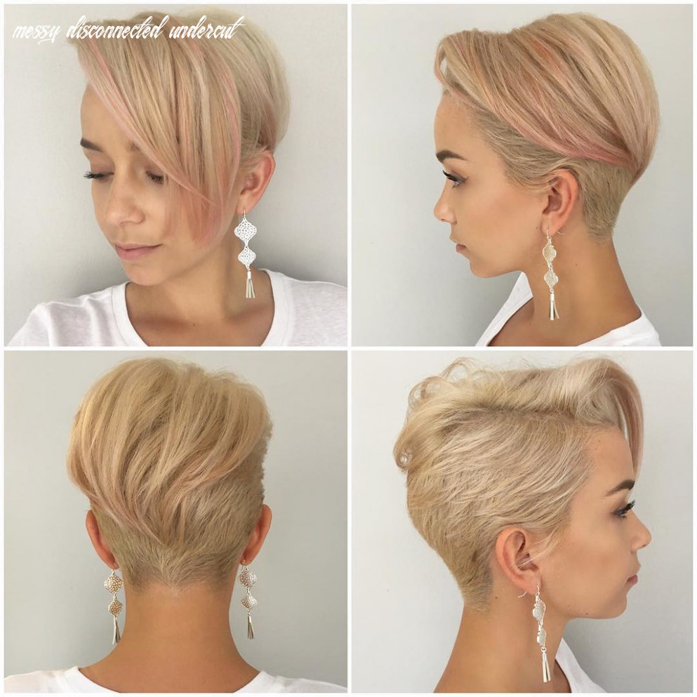 Platinum Disconnected Undercut Pixie with Messy Straight T…   Flickr