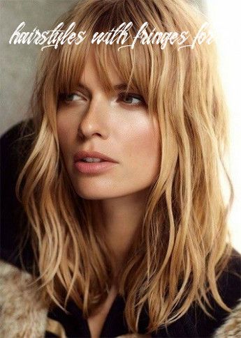 Play with fringe looks trendy hairstyles for women over 9