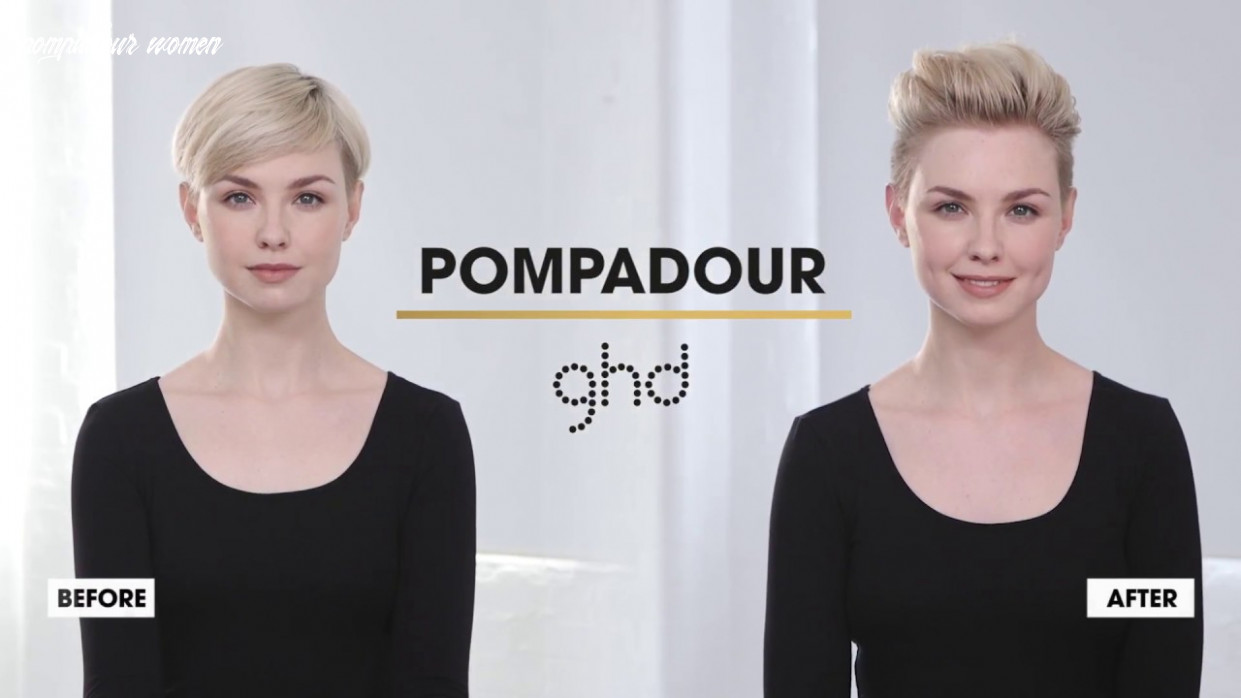 Pompadour | ghd hairstyle how to pompadour women