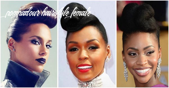 Pompadour hairstyle for black women – afroculture