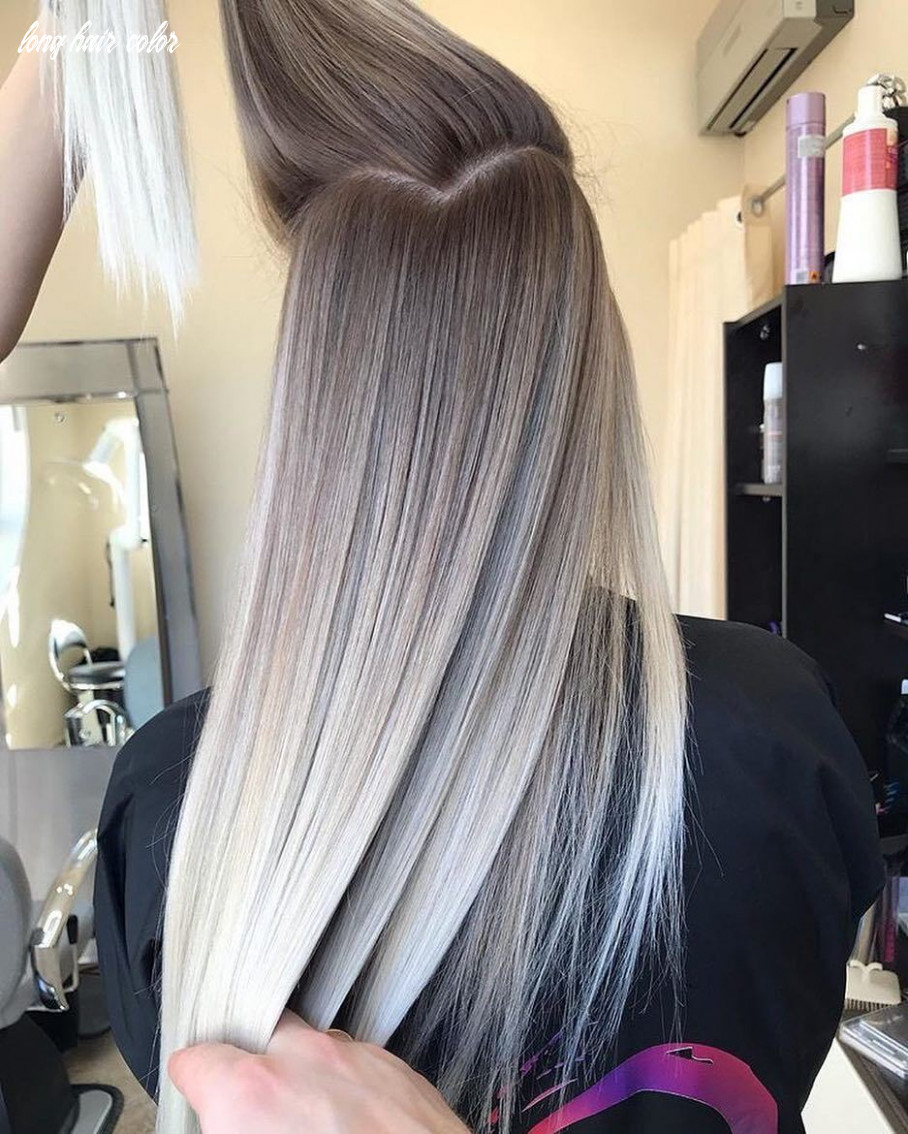 Pretty ombre balayage hairstyle for long hair 10 long hair color