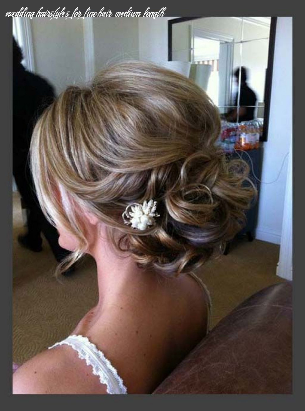 Pretty updos for medium length hair ideas   mother of the bride