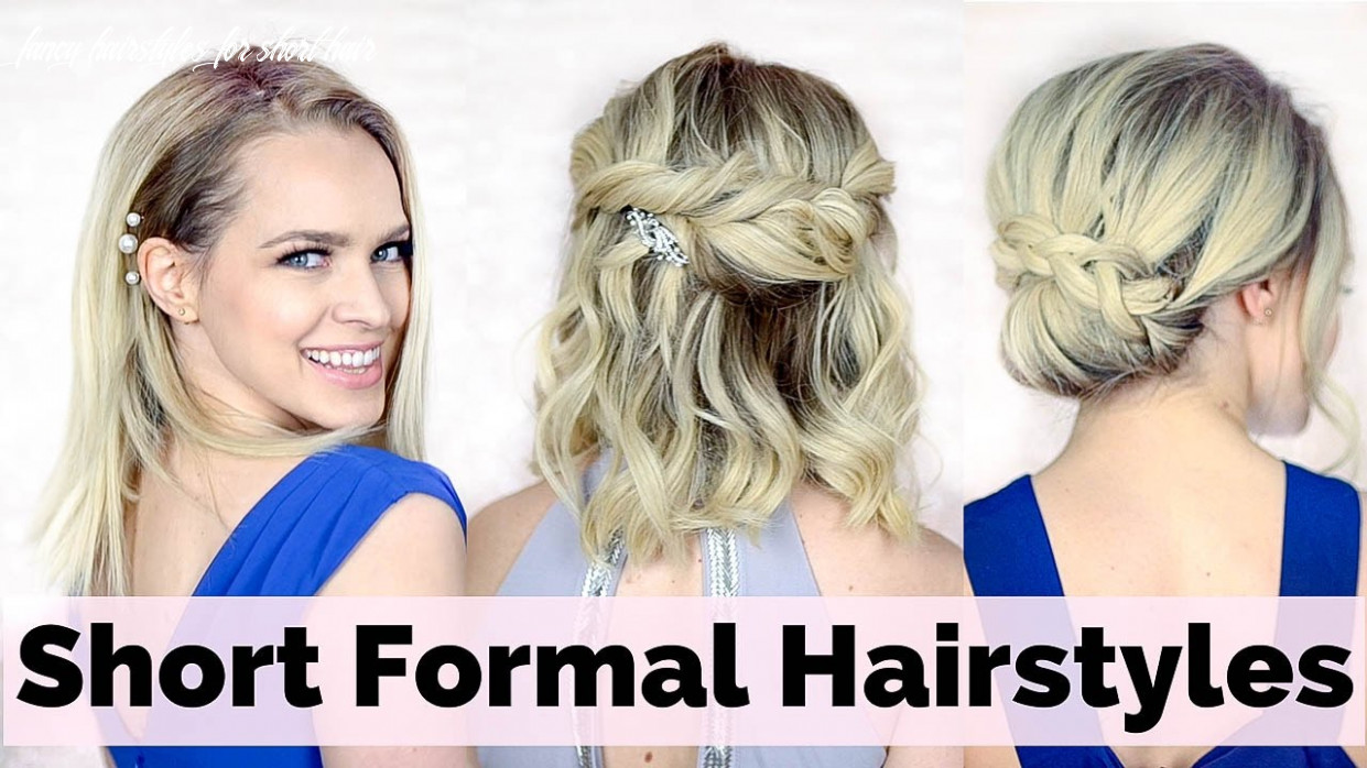 Prom hairstyles for short hair fancy hairstyles for short hair