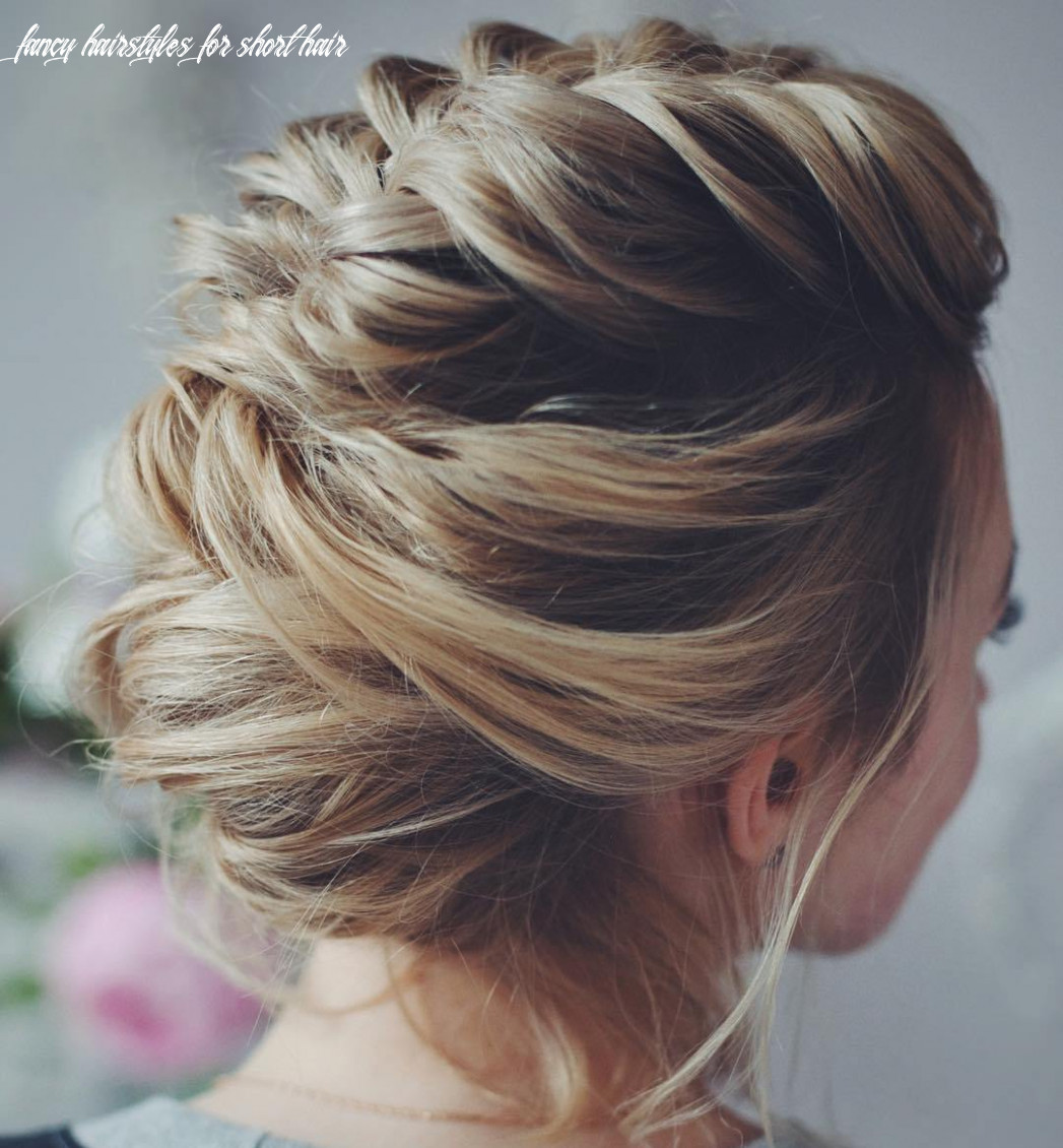 Prom hairstyles updos short hair fancy hairstyles for short hair