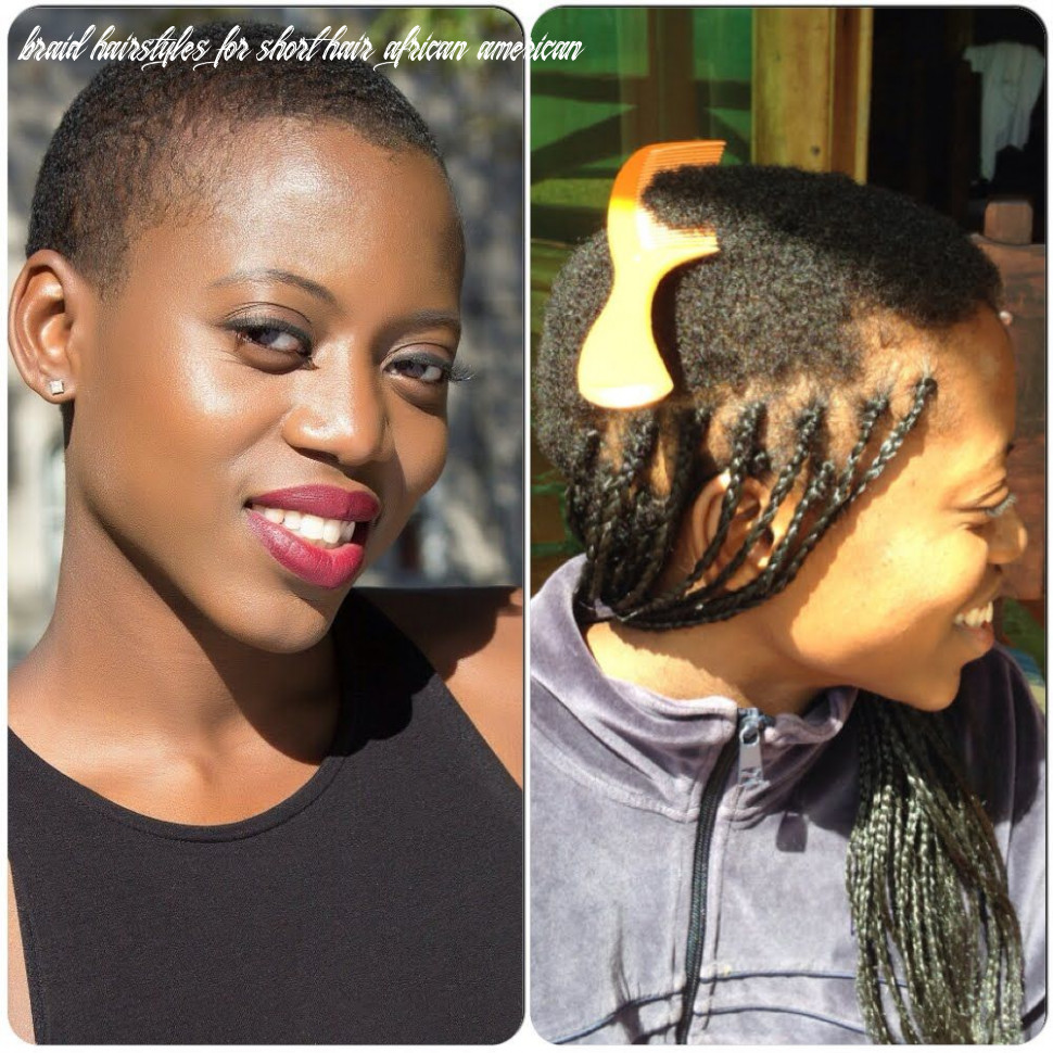 Protective braiding hairstyle for a twa (with images)   hair