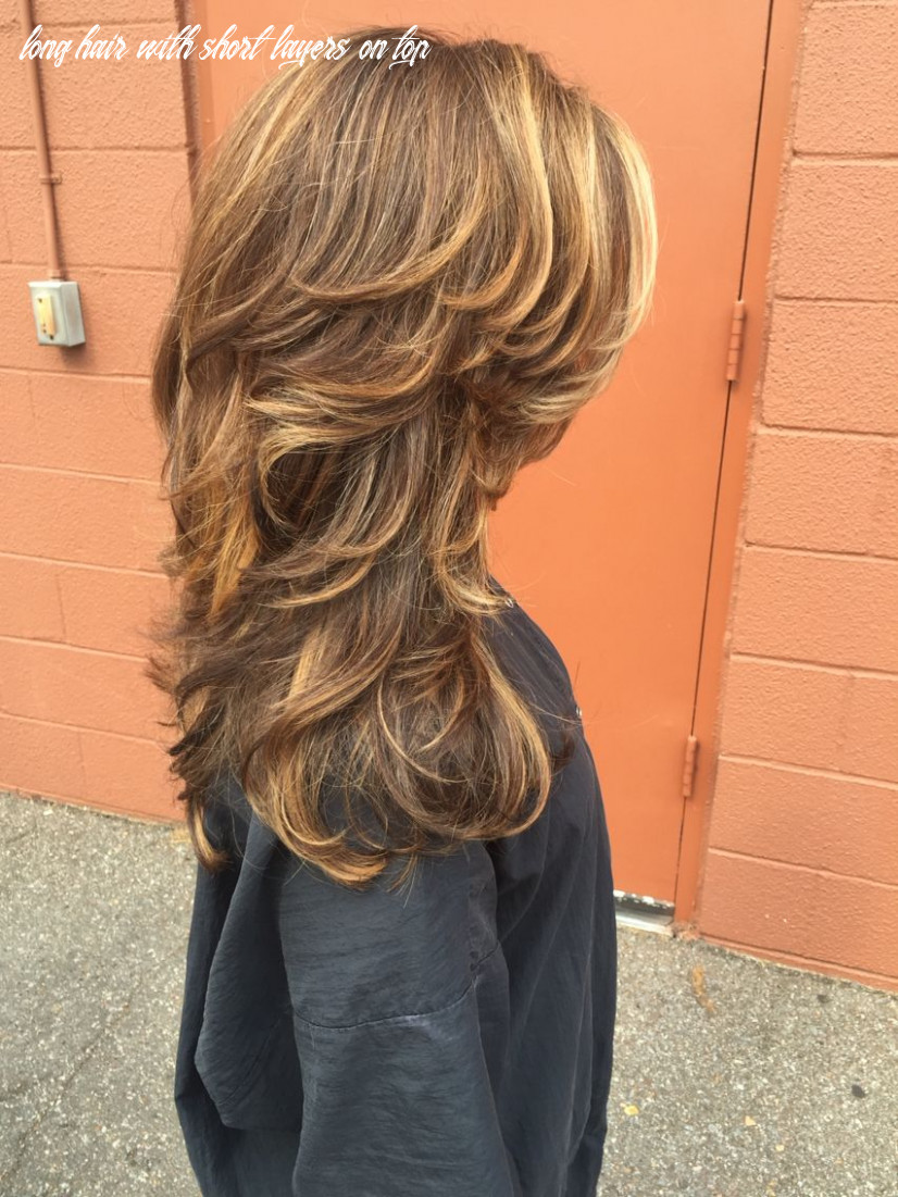 Salted caramel and pumpkin spice color melt | Long hair styles ...