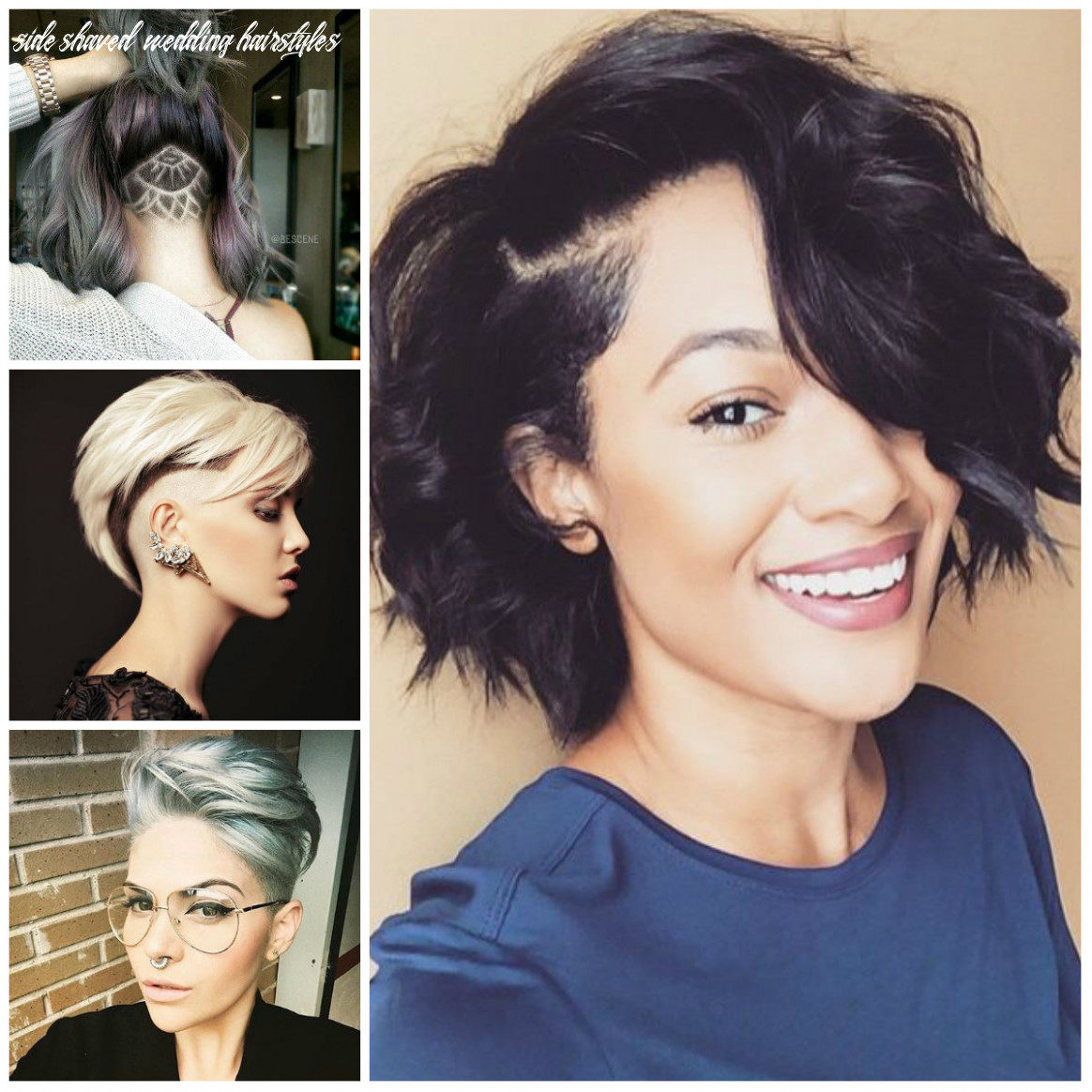 Sassy and edgy shaved hairstyles for females | 11 haircuts