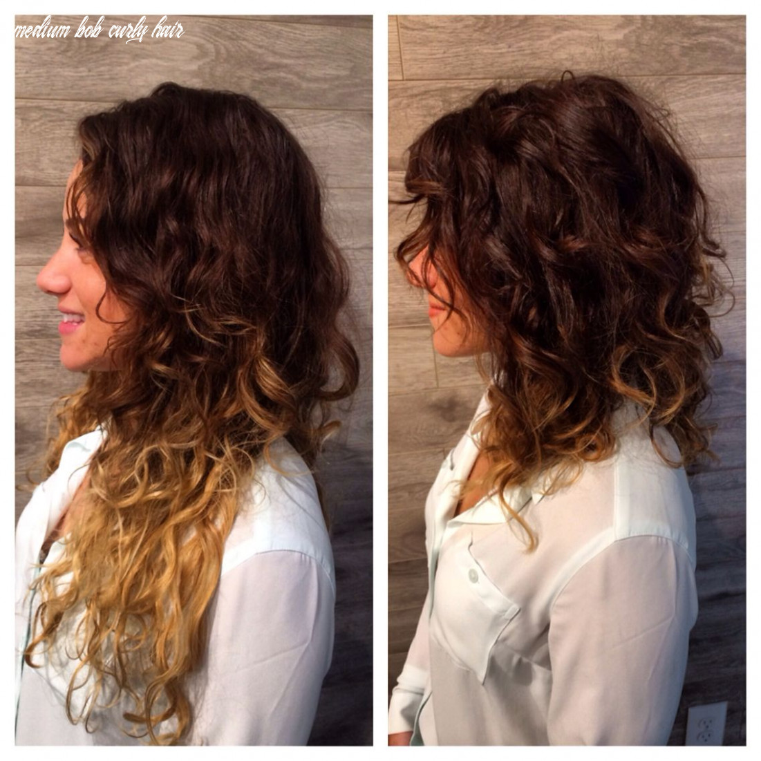 Saying goodbye to summer ends #Lob #Curly #FallHair … | Medium ...
