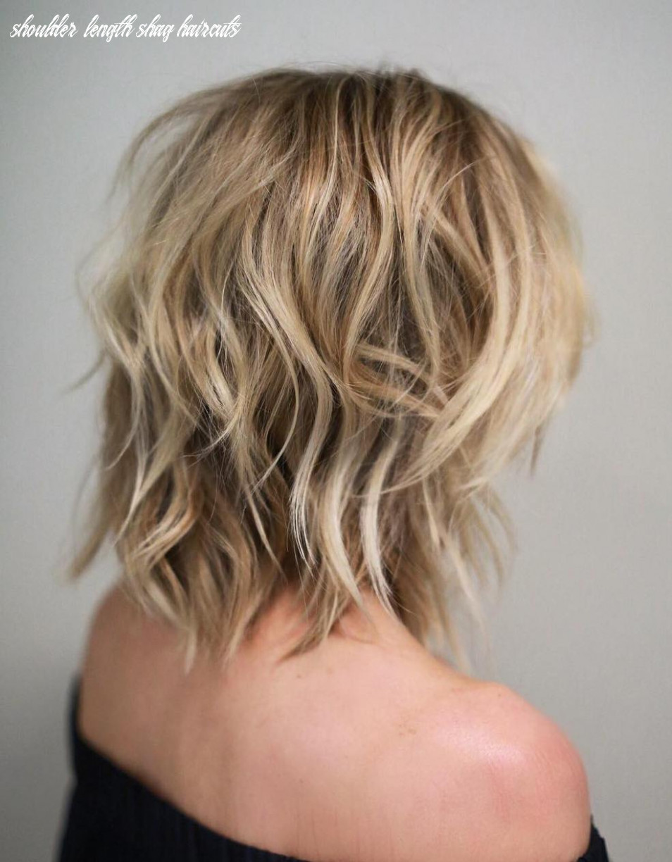 Shag haircuts and hairstyles in 11 — therighthairstyles shoulder length shag haircuts