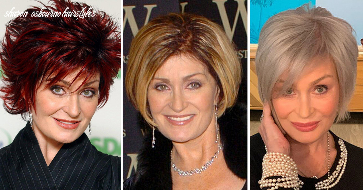 Sharon Osbourne's Haircuts and Hair Colors: Red, Blonde and More