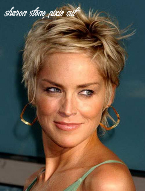 Sharon Stone Short Pixie Haircut | Frisuren | Frisuren ...
