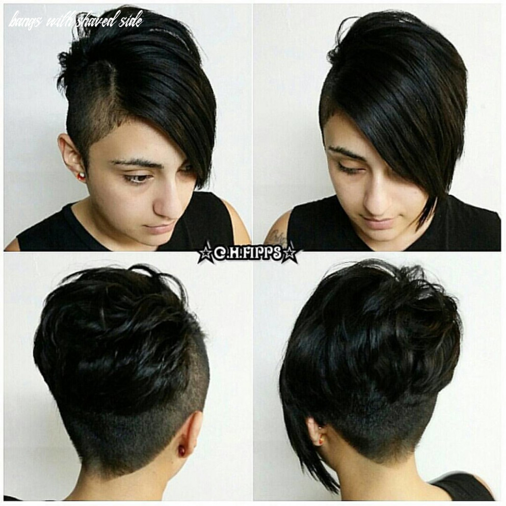 Shaved asymmetrical pixie with long side bangs shaved asym… | flickr bangs with shaved side