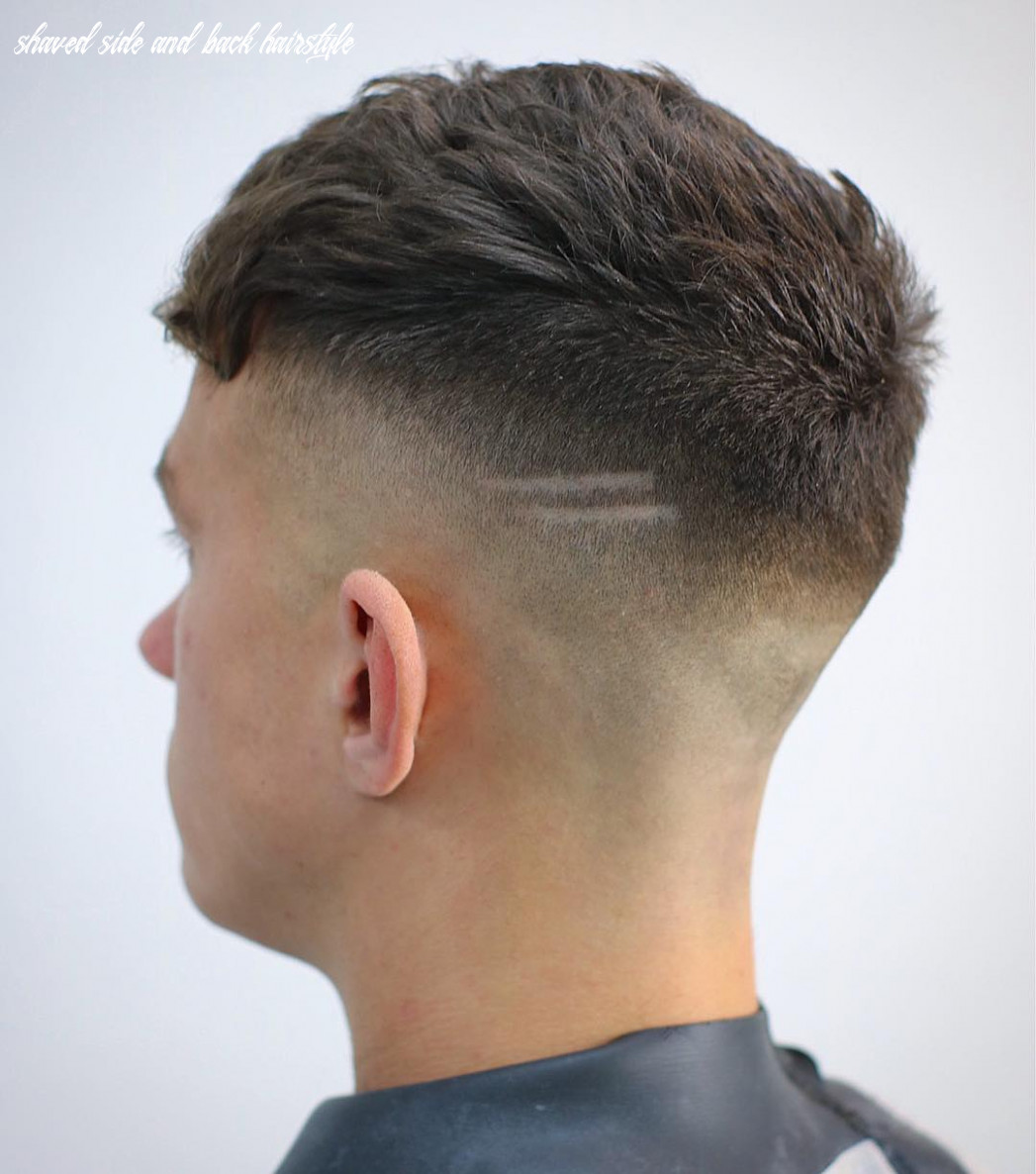 Shaved sides haircuts > 11 cool fade styles for 11 shaved side and back hairstyle