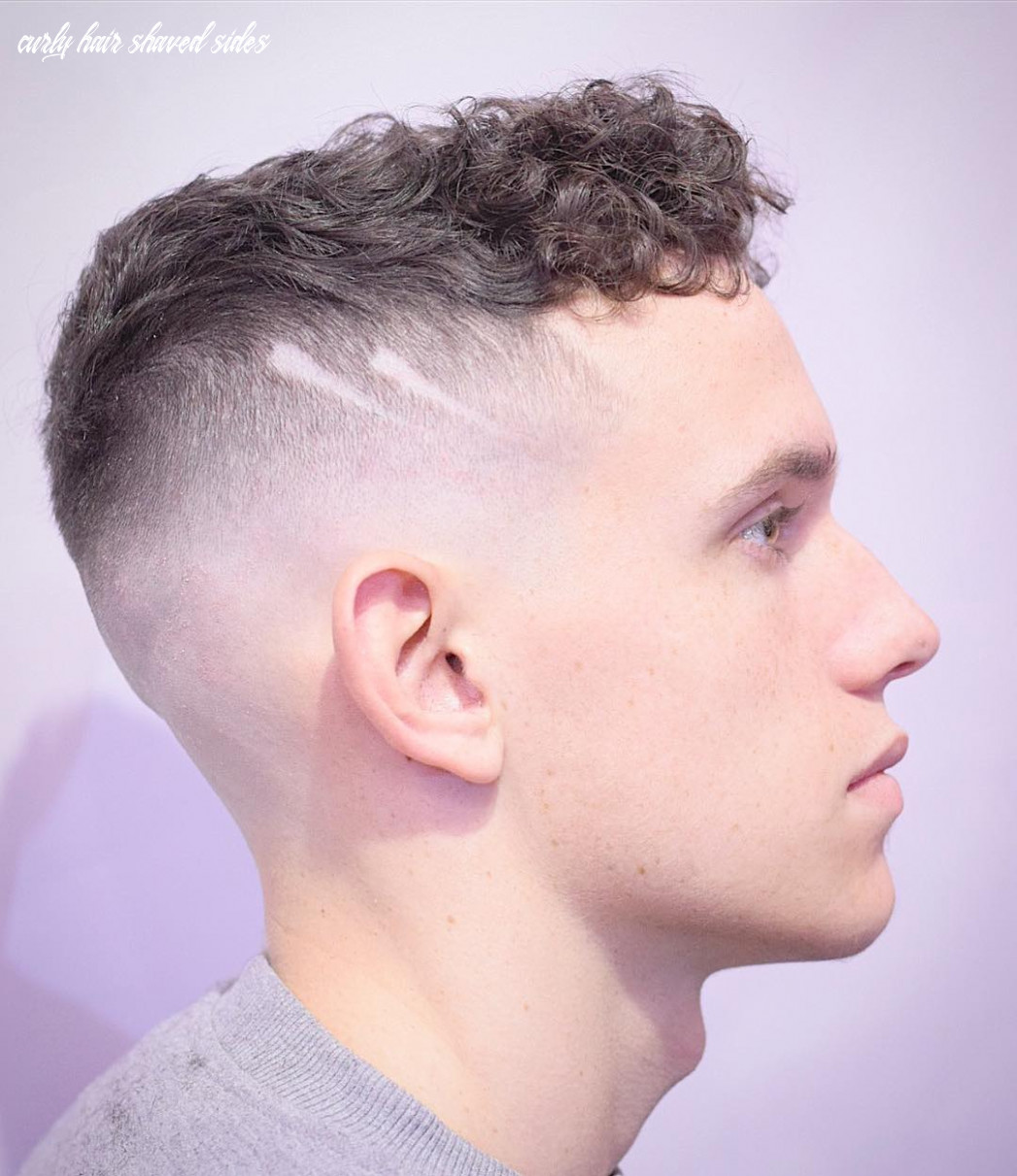 Shaved Sides Haircuts -> 8 Cool Fade Styles For 8