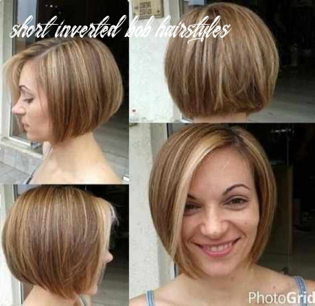 Short bobs with bangs hairstyles unique short layered inverted bob