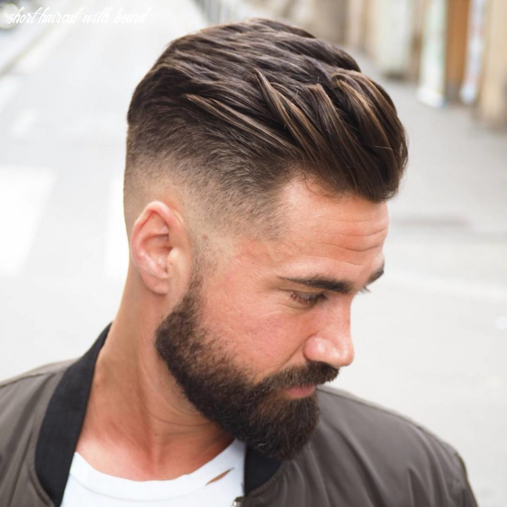 Short Hair With Beard :: 12 Best Iconic Beard Styles for Men ...