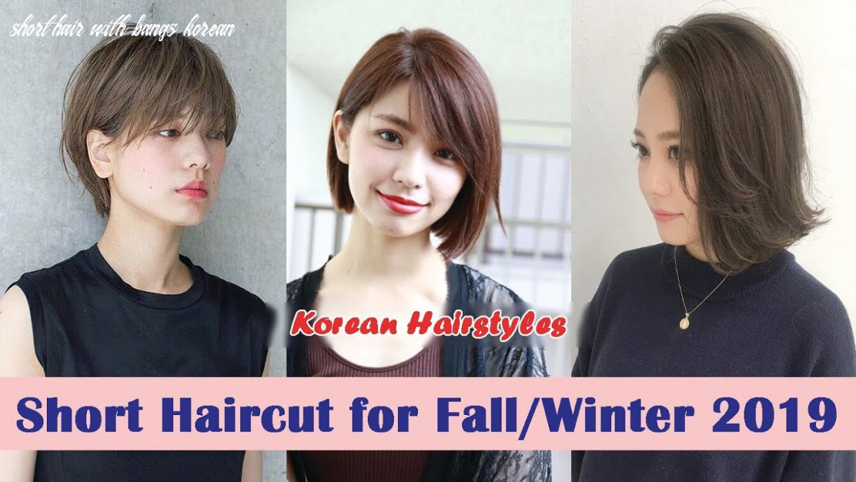 Short Haircut for Fall/Winter 8 | Korean Hairstyles