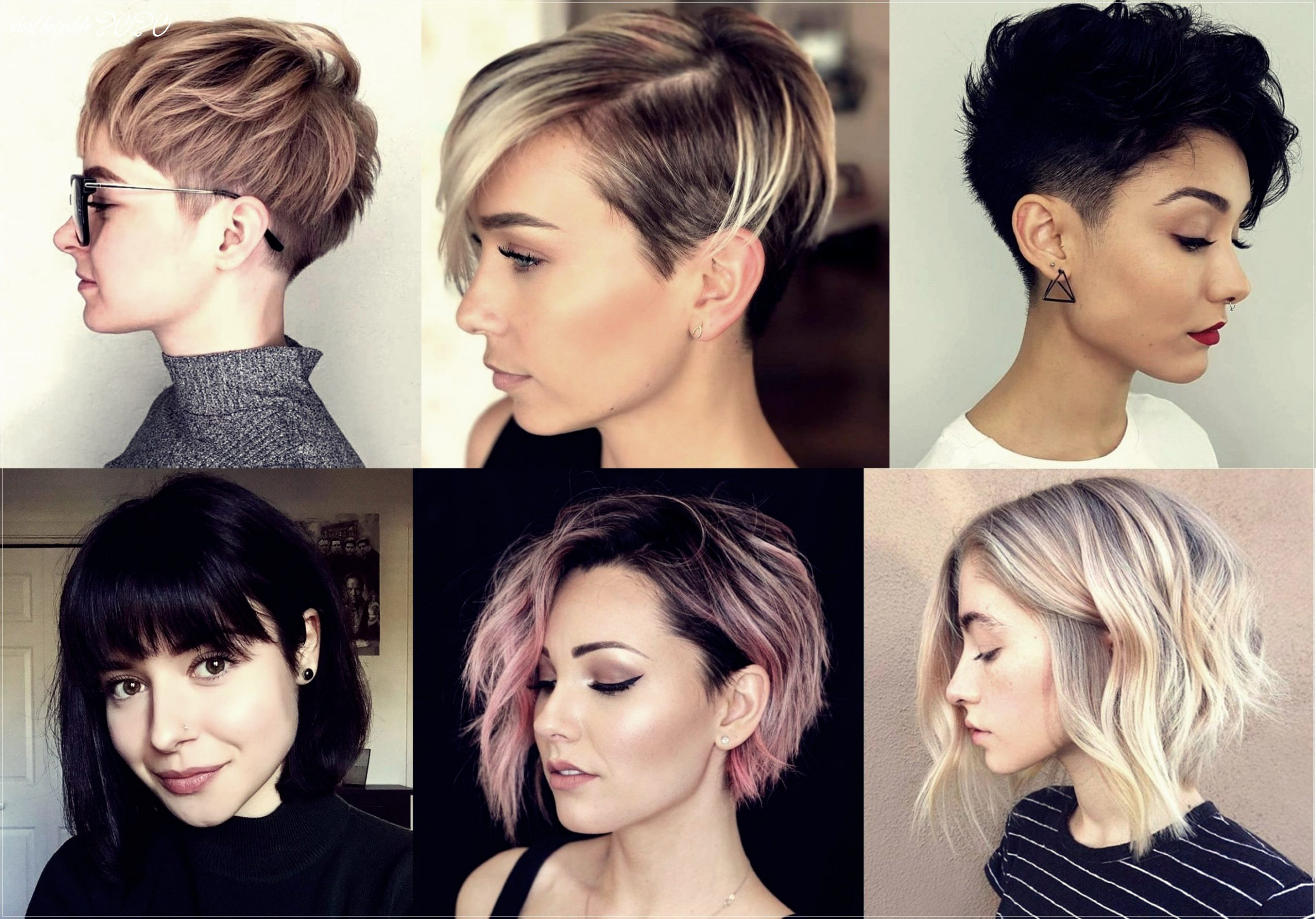 Short haircuts 12: 12 photos and trends   short hairstyle 2020