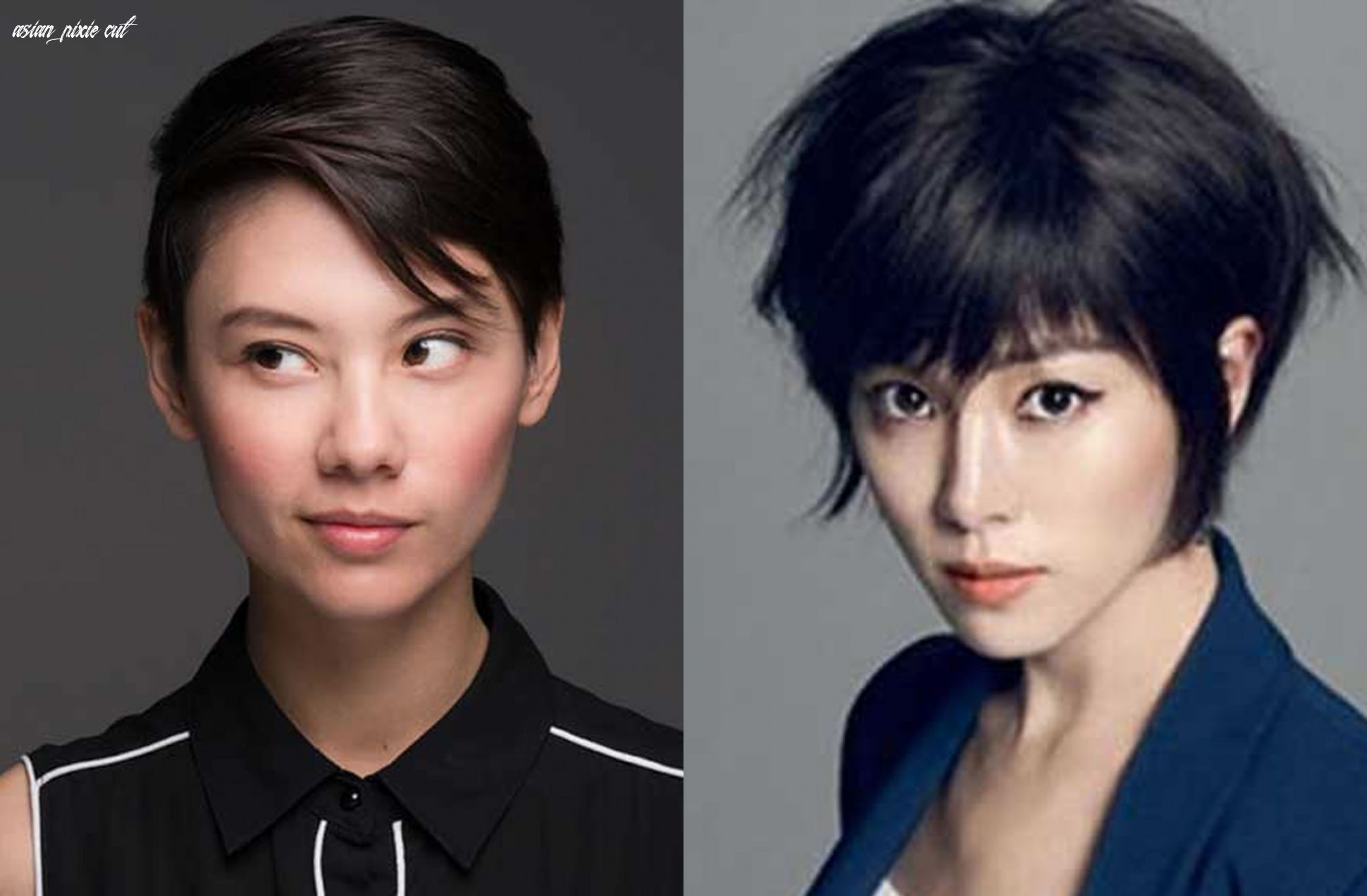 Short haircuts for asian women best pixie hair cut image page