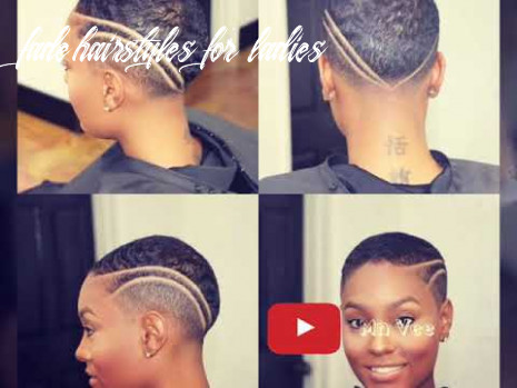 Short haircuts for black women | fade cuts for black ladies 11