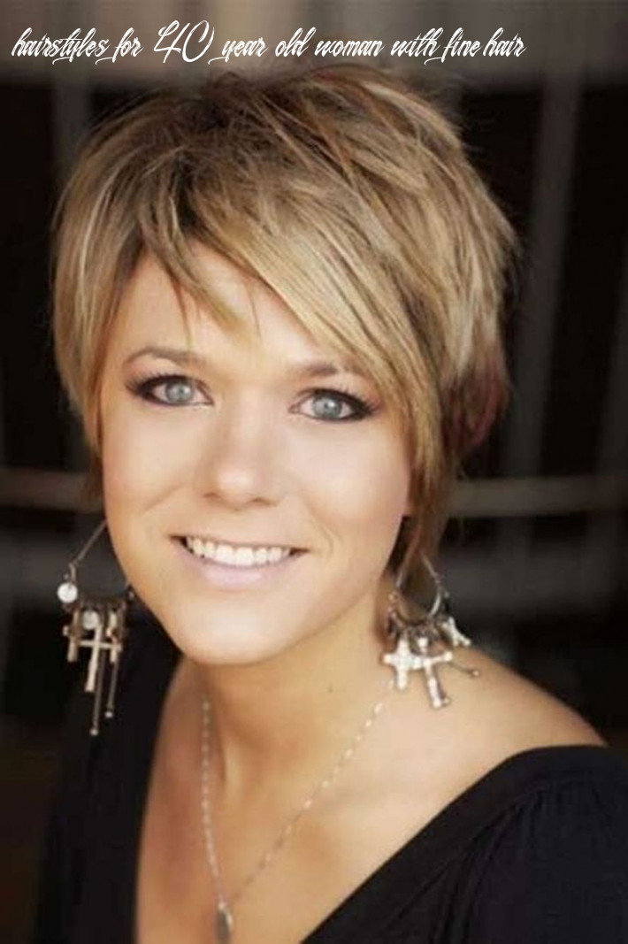 Short hairstyles for 10 year old woman with fine hair folade hairstyles for 40 year old woman with fine hair