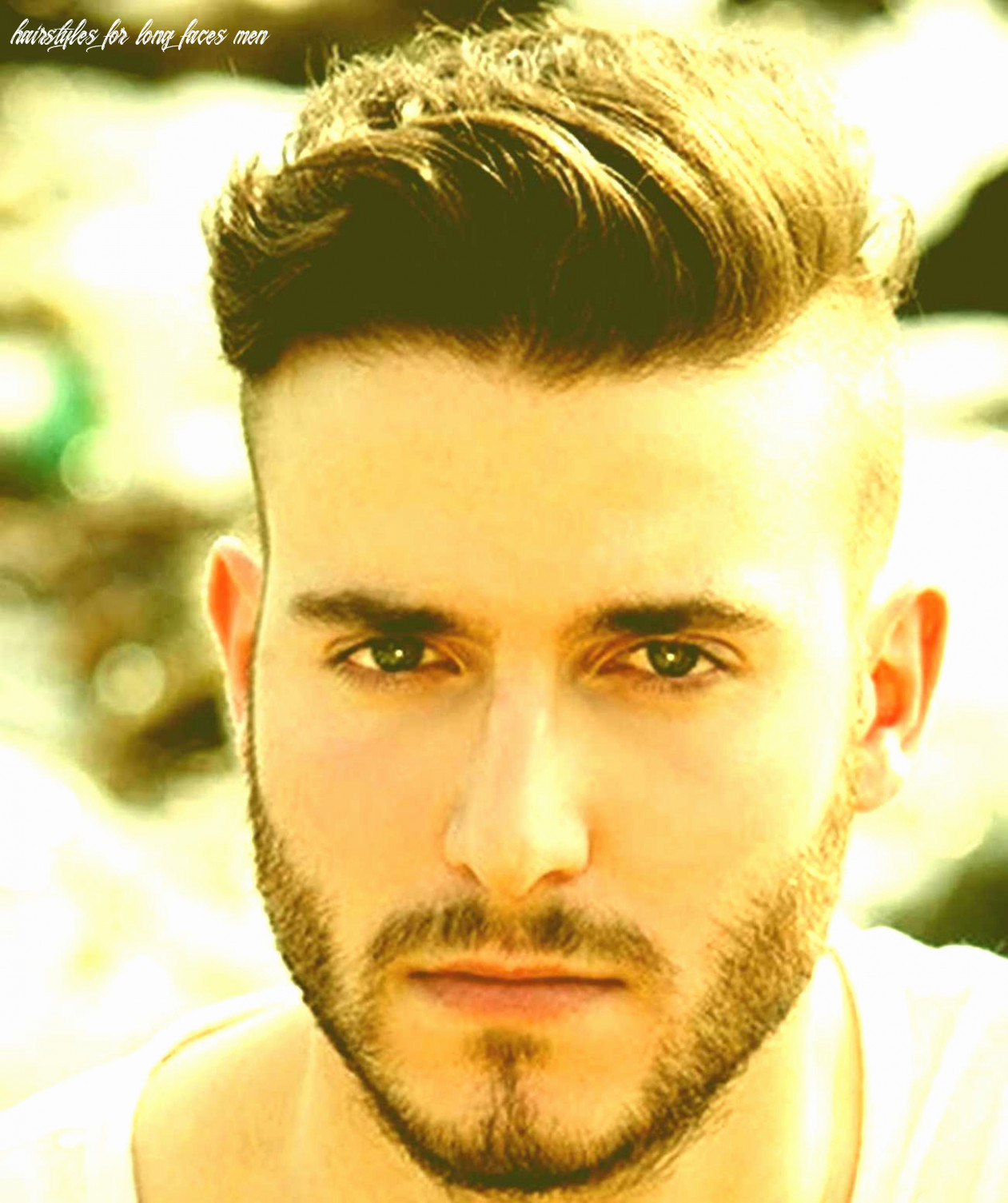 Short hairstyles for long faces men awesome best hairstyle for