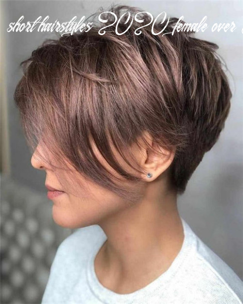 Short hairstyles for women over 8 to look younger in 8