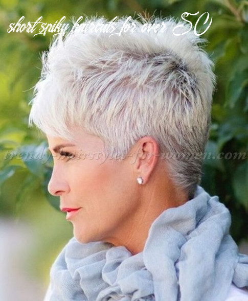 Short hairstyles over 8, hairstyles over 8 spiky short