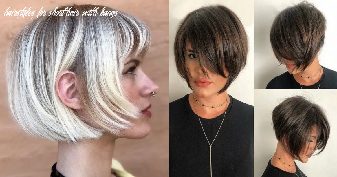 Short Hairstyles with Bangs 11 - Hairs.London