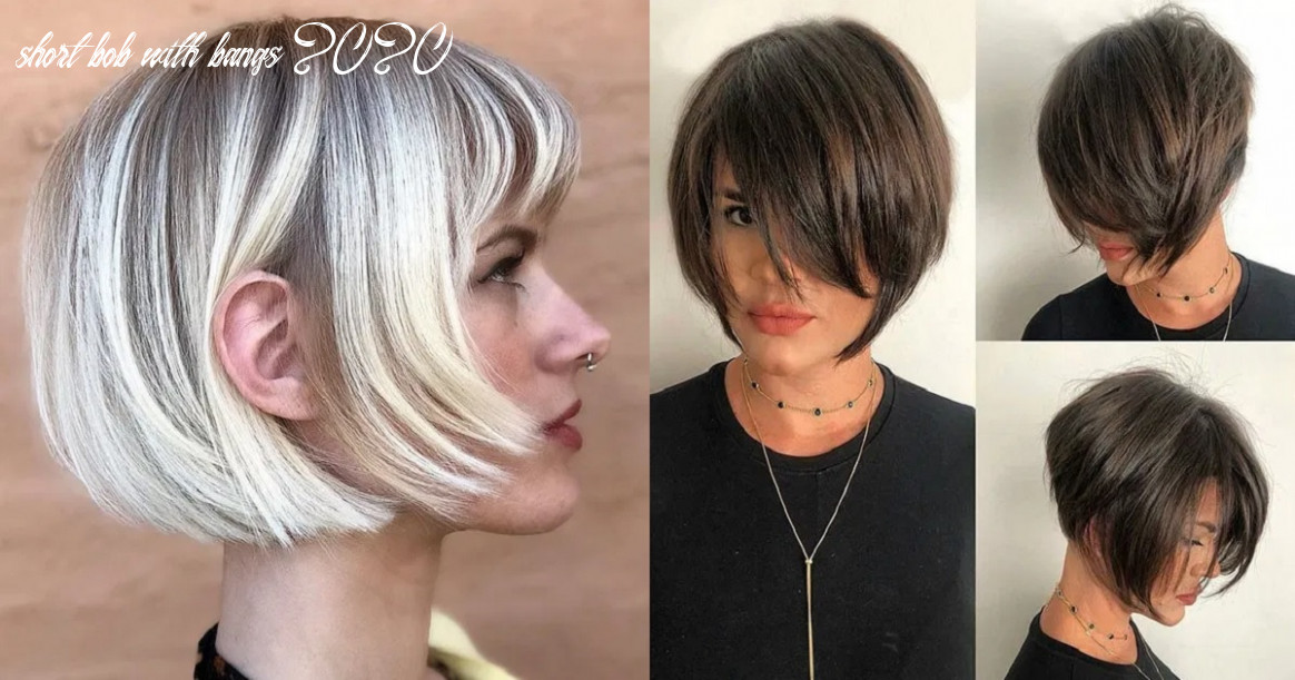 Short hairstyles with bangs 9 hairs