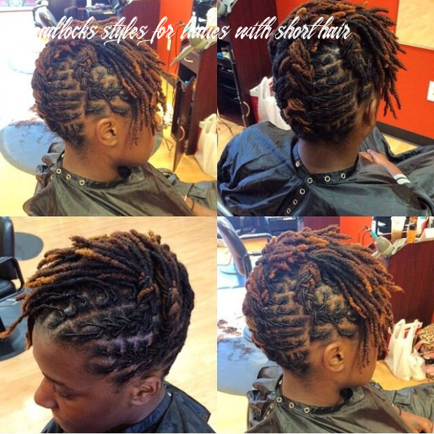 Short locs style of the week | hair styles, locs hairstyles, short