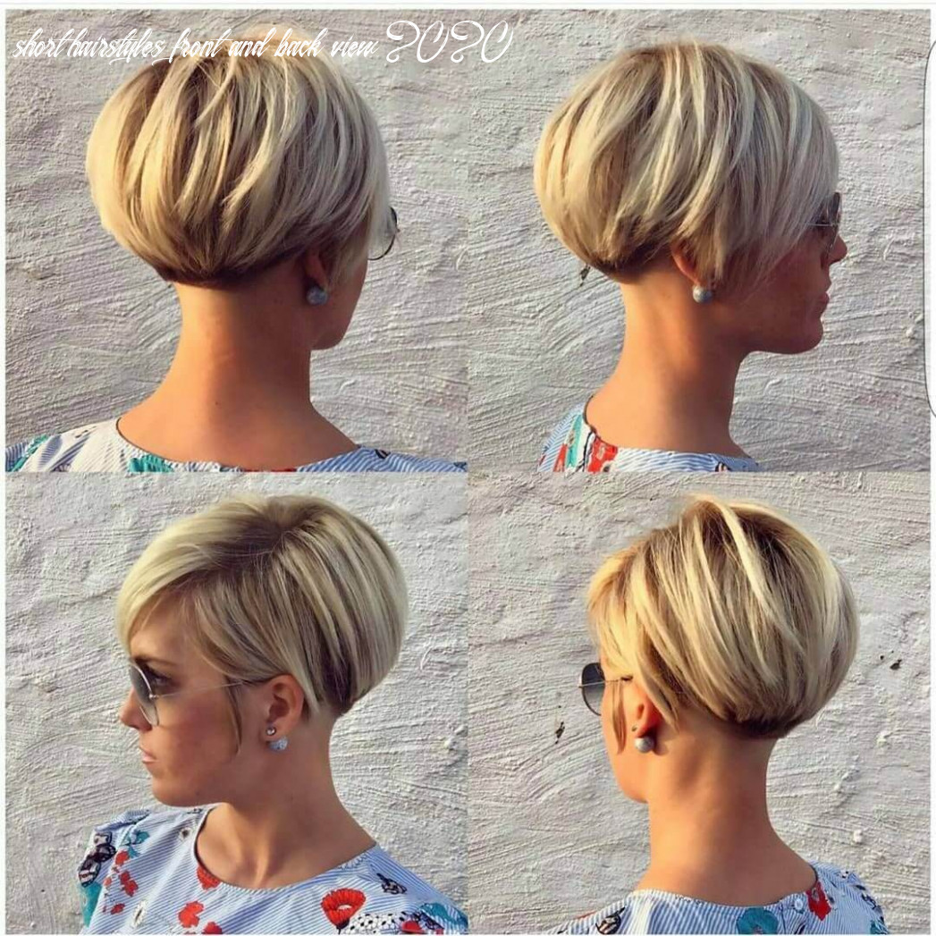 Short pixie haircuts front and back view 12 short hairstyles front and back view 2020