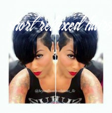 Short relaxed hair short relaxed hairstyles 2017