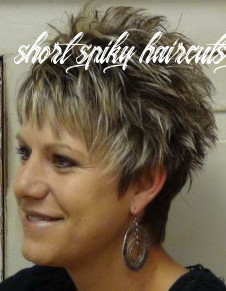 Short spikey hairstyles for women over 8 | short spiky hairstyles