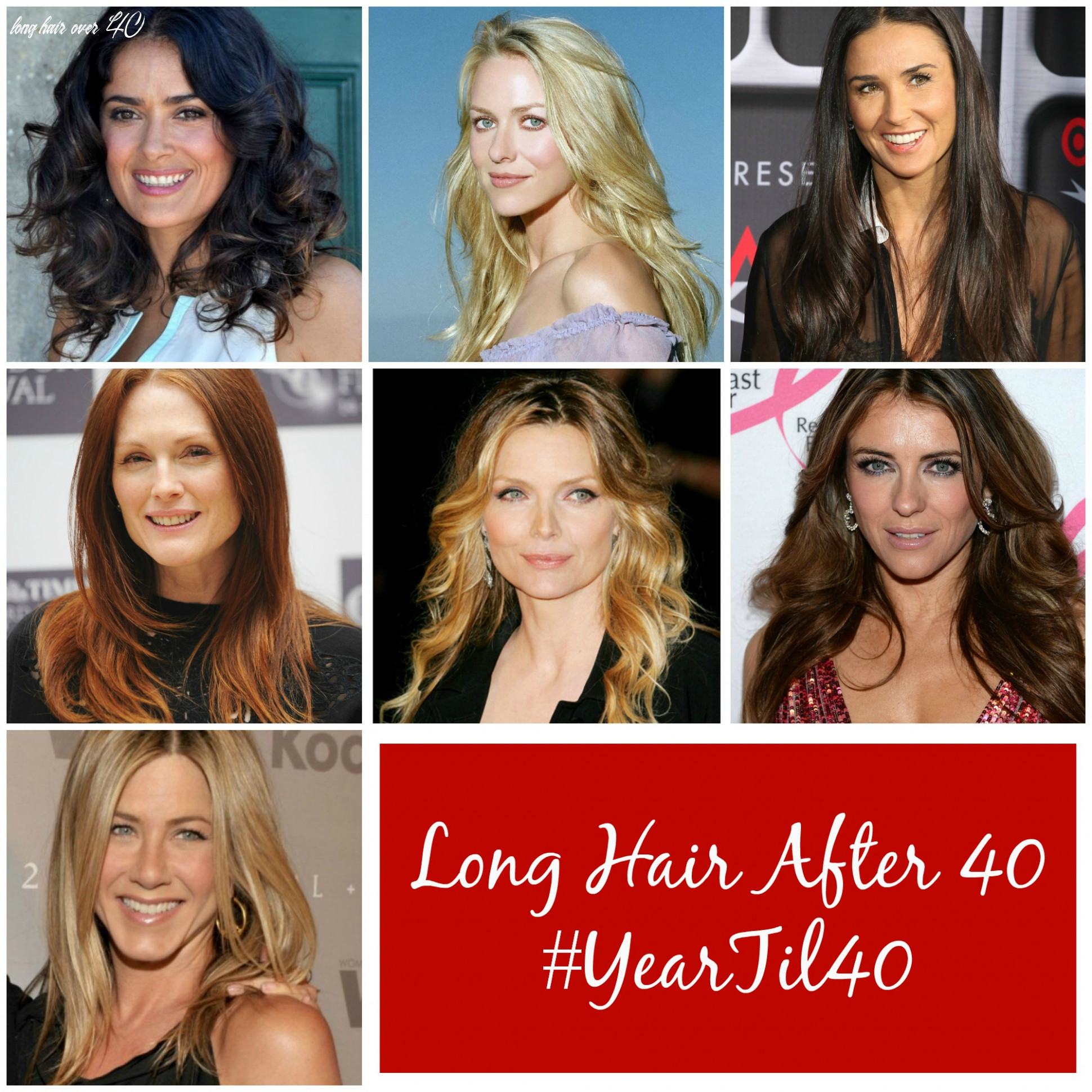 Should women over 11 have long hair? #yeartil11 long hair over 40