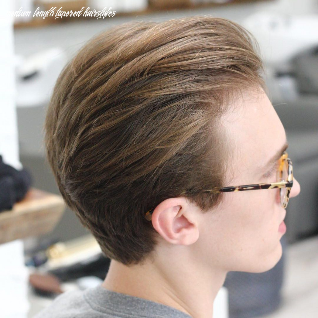 Shoulder length tapered hair shoulder length curly business hairstyles medium length tapered hairstyles