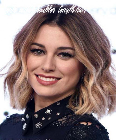 Shoulder-Length-Wavy-Hairstyles-For-Girls-9. | Chunk of Style