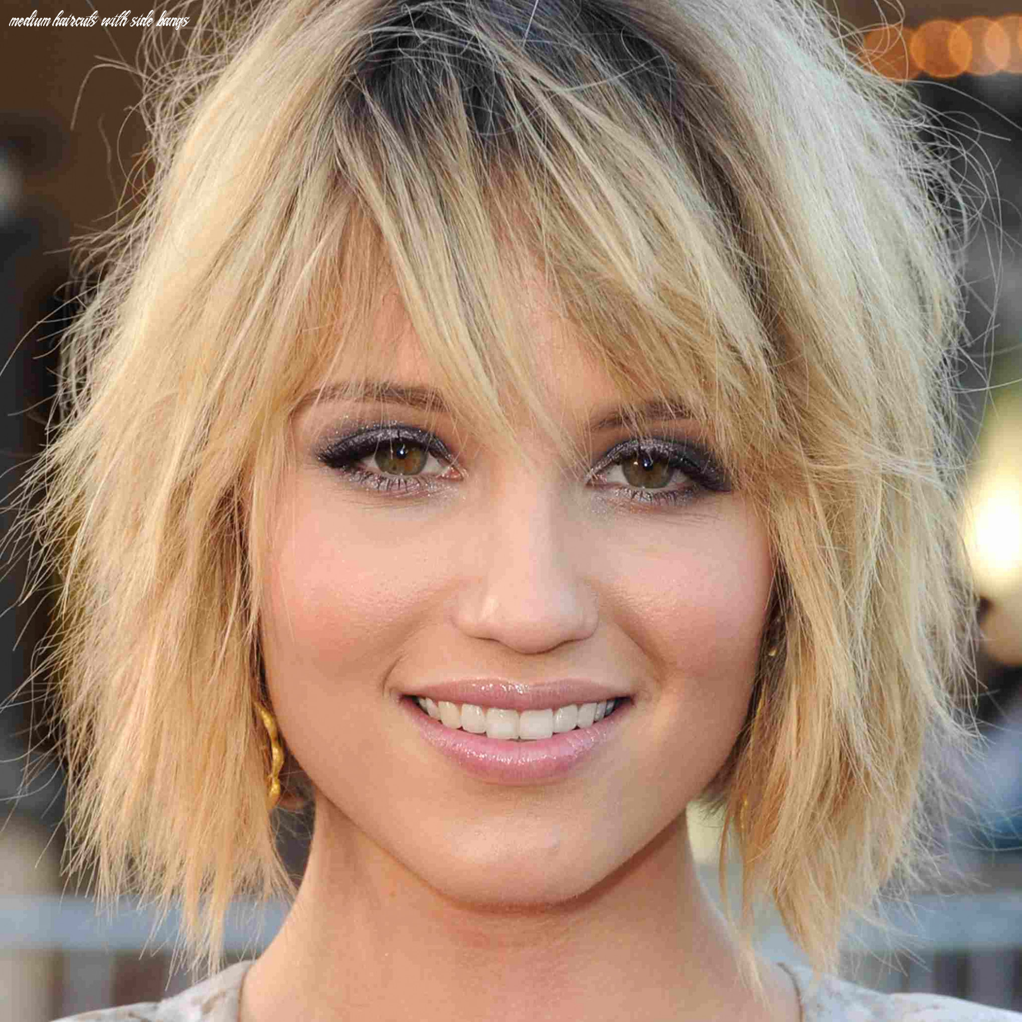 Side bangs medium hair new the best haircuts for oval faces guides medium haircuts with side bangs