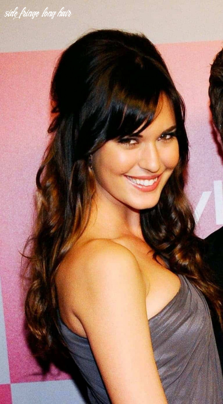 Side fringe hairstyles for long hair 8 womenstyle