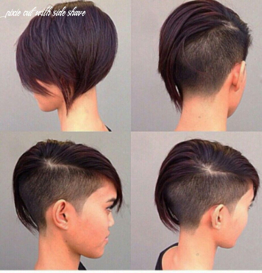 Side shaved off | half shaved hair, haircuts for fine hair, bob