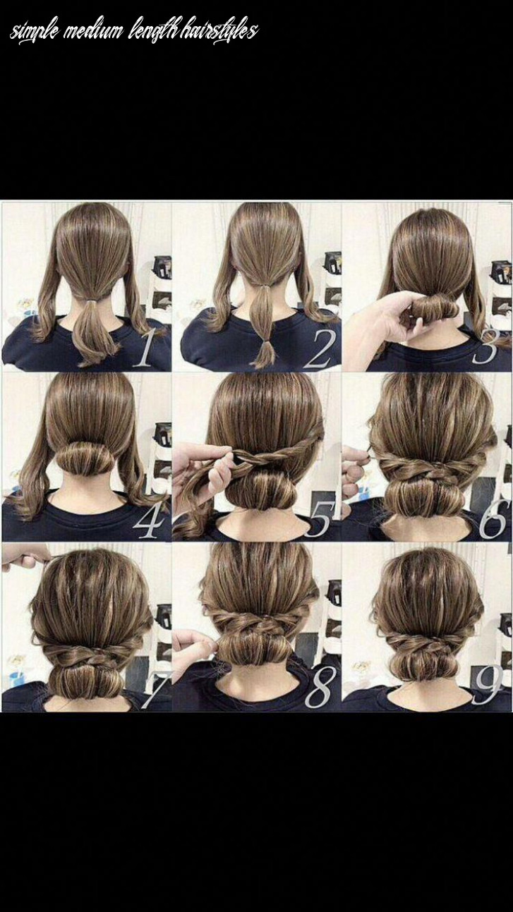 Simple bridal hairstyles for shoulder length hair inspirational