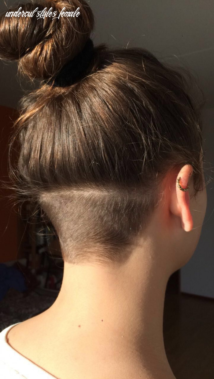 Simple undercut | undercut long hair, undercut hairstyles, long