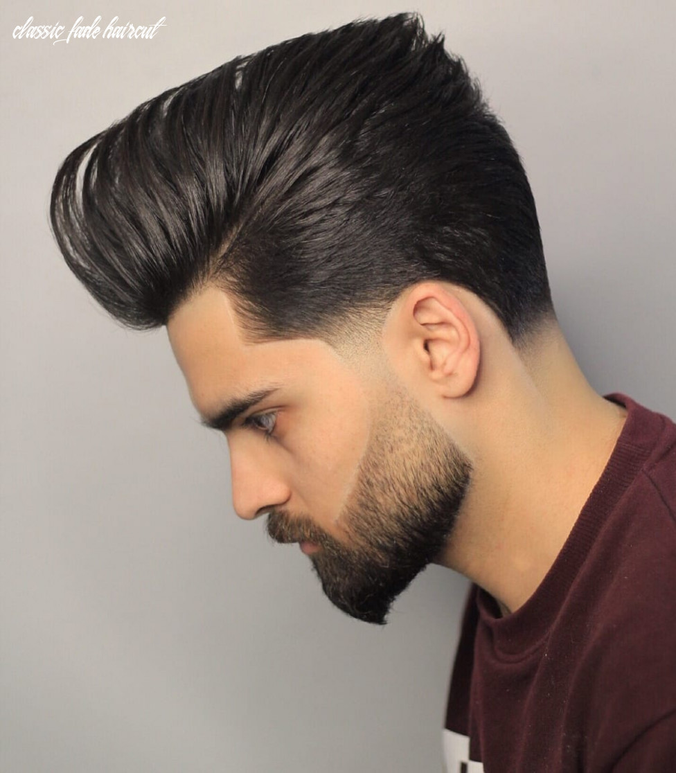 Stay timeless with these 10 classic taper haircuts classic fade haircut