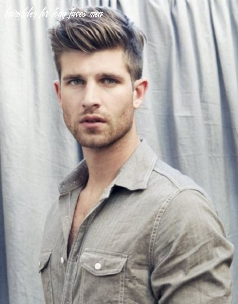 Style mens hairstyle long face big nose   haircuts for men, mens