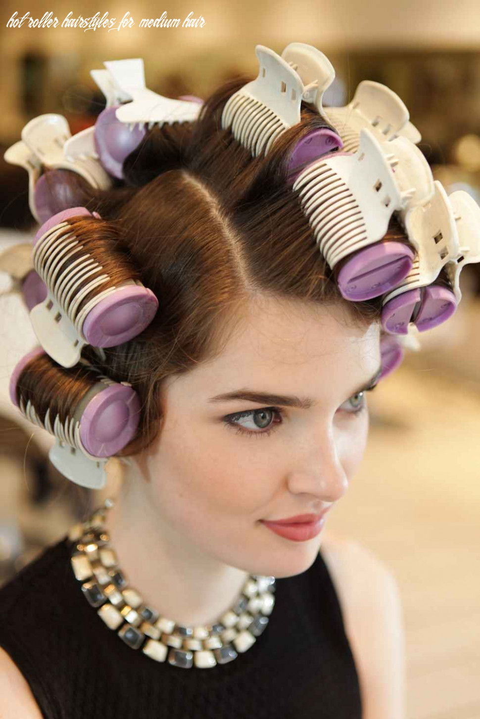 Styles created with hot rollers   hot rollers hair, hot rollers