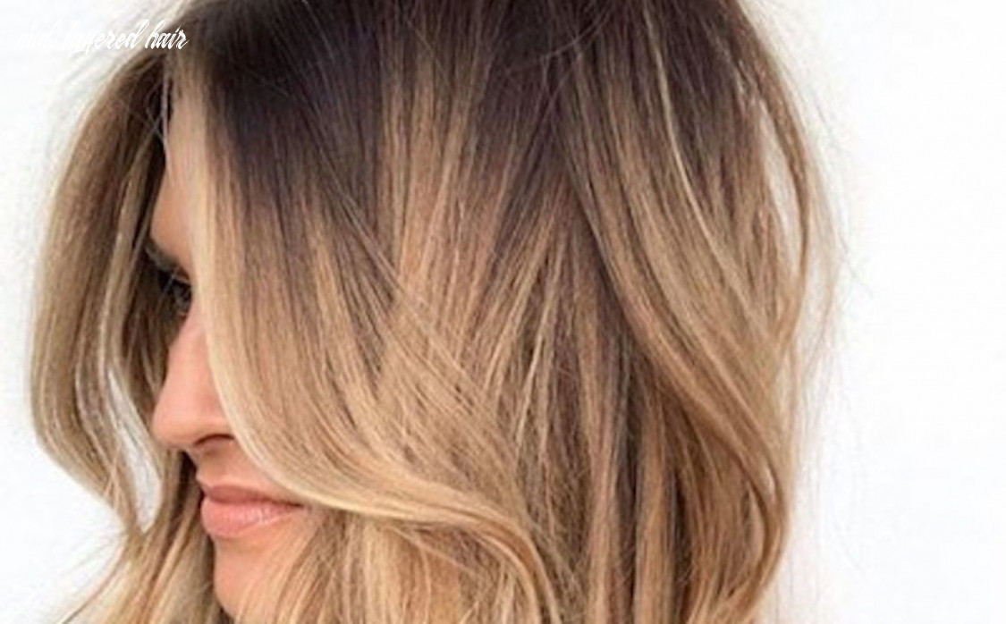 Stylish mid length layered haircuts for women | fashionisers© mid layered hair